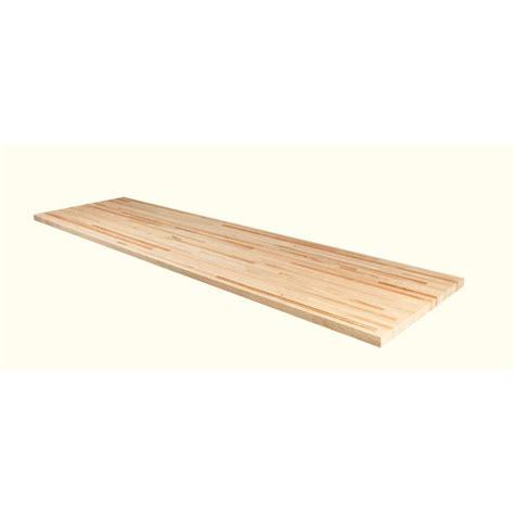 50inx25inx15in Wood Butcher Block Countertop In