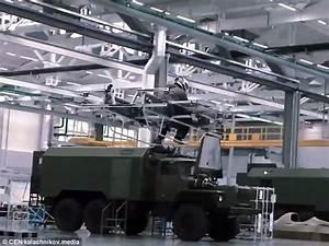 Russian firearms manufacturers Kalashnikov's new machine ...