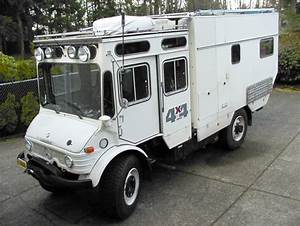 Spotted: Unimog 416-Based 4×4 Camper // West County ...