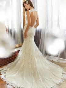 milanoo mariage sheath wedding dress with chapel