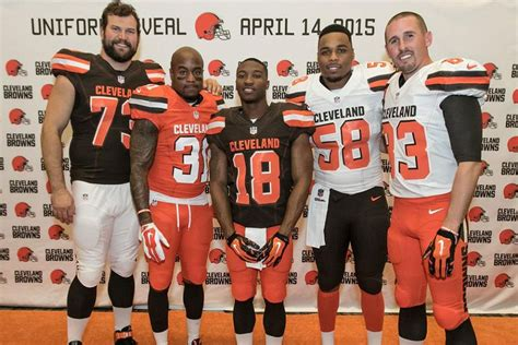cleveland browns unveil  uniforms   cincy jungle