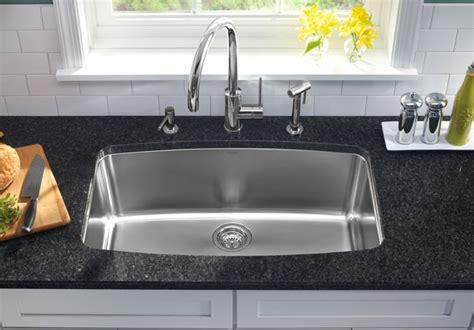 one bowl kitchen sink how to choose a kitchen sink part i abode