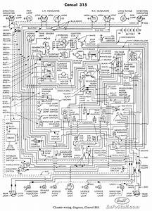 Wiring Diagram For Ford Consul 315