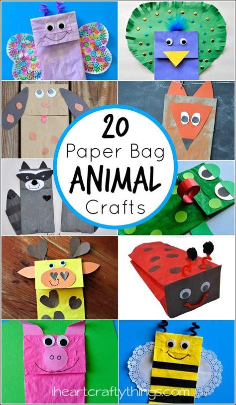 20 paper bag animal crafts for animal crafts 800 | e7a60c7bcaf2486177471813f4248da6