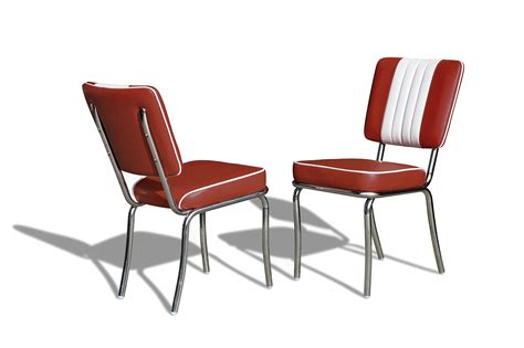 chaises es 50 chaise diner 4 pieds dossier bicolore bel air vintage