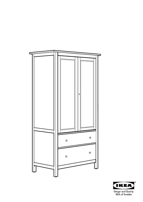 Hemnes Bookcase Assembly by Ikea Hemnes Wardrobe W 2 Drawers Assembly