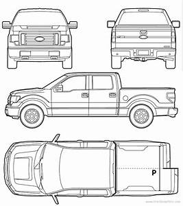 the blueprintscom blueprints gt cars gt ford gt ford f 150 With 1953 ford crew cab