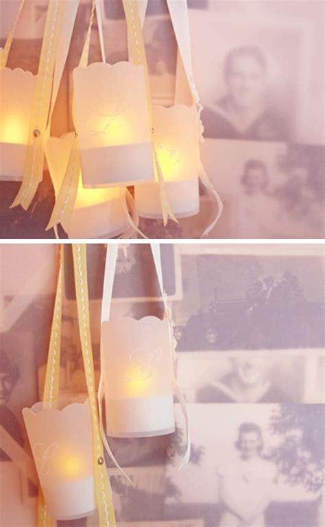 tea light christmas lantern decor