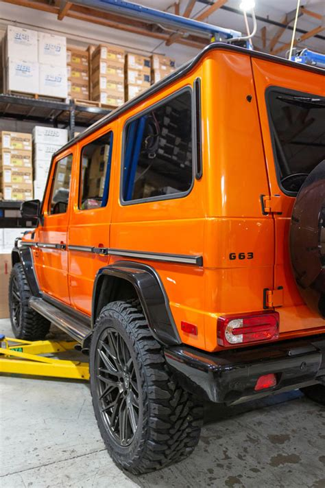 It has fully locking differentials and is one of the rear. Agency Power Mercedes G-Wagon Lift Kit 4 Inch W/ Steering Stabilizer for G63 | G65 | G500 | G550 ...