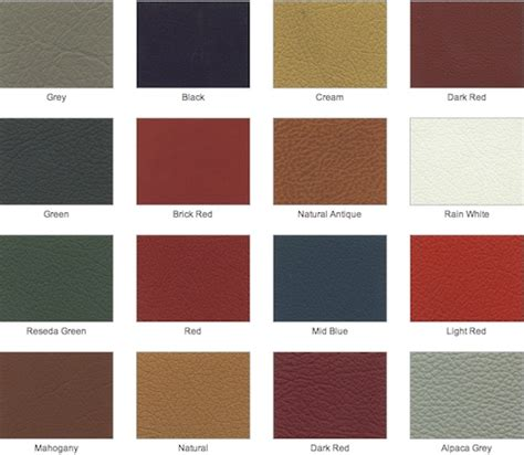 leather color mercedes leather colours