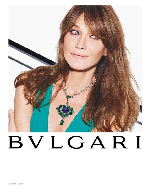 Carla Bruni is All Smiles for Bulgari 'Diva' Spring 2015 ...