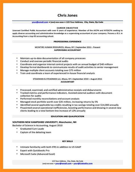Write Objective For Resume by 11 12 Best Objective To Write In Resume