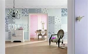 Tapeten Schlafzimmer Landhaus : tapete im schlafzimmer farben tapeten ~ Sanjose-hotels-ca.com Haus und Dekorationen