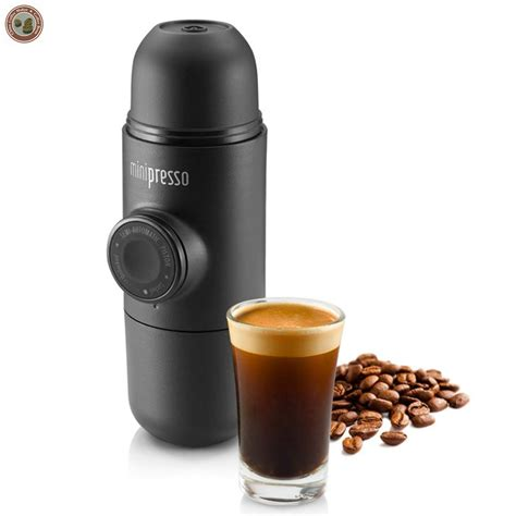 New Arrival Manual Portable Travel Coffee Maker Household Espresso Coffee Bottle in Coffee