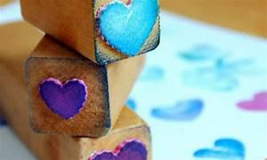 Stempel Selber Gestalten : die g nstigste deko art stempel selber machen 3 anleitungen diy zenideen ~ Eleganceandgraceweddings.com Haus und Dekorationen