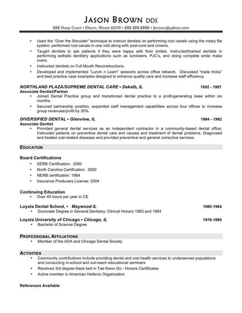sle resume for board of directors and sle