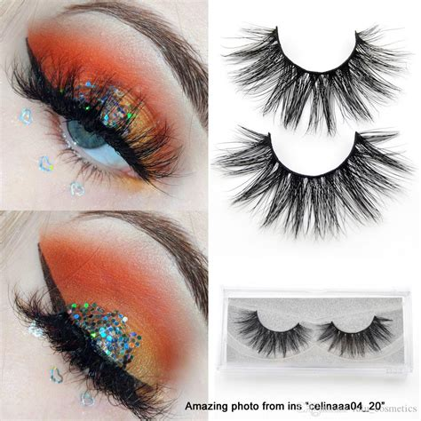 3D Mink Eyelashes Long Lasting Mink Lashes Natural ...