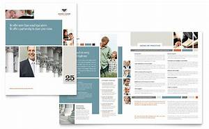 Booklet Template For Word Family Law Attorneys Brochure Template Word Publisher