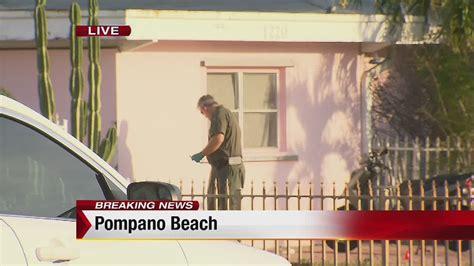 man stabs girlfriend  death  pompano beach deputies