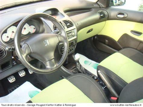 siege auto 206 cc peugeot 206 cc 2l 2002 occasion auto peugeot 206