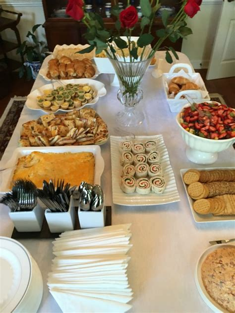 Best Food For Bridal Shower by Best 20 Bridal Shower Menu Ideas On Bridal