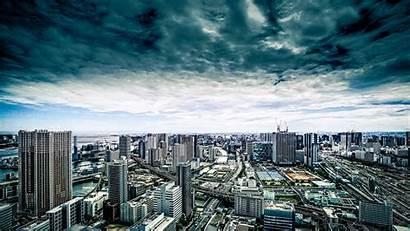 Architecture Buildings Skyscrapers Metropolis 1080p Hdtv Fhd