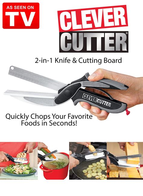 cutter clever cutting board knife seen tv cut zoom kitchen drleonards carolwrightgifts roll