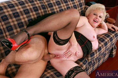 Horny Classy Blonde Granny Takes Her Clothes Off And Fucks