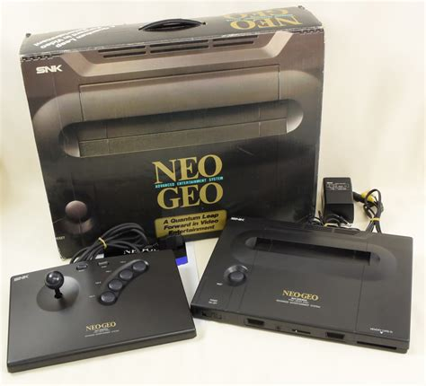 neogeo console neo geo neogeo aes console system boxed neo 0 snk