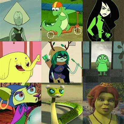 Cartoon Characters Skinned Personal Favourite