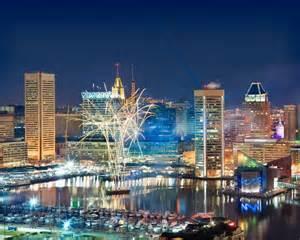 Baltimore Inner Harbor Skyline