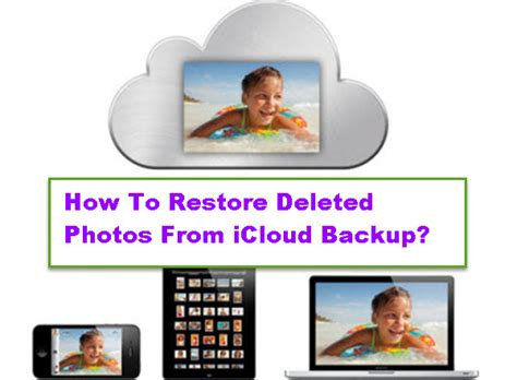 How To Restore Deleted Photos From Icloud Backup?