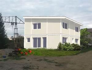 Maison Ossature Bois Toit Plat : maison ossature bois et toit plat nos projets maison 1 pan ~ Melissatoandfro.com Idées de Décoration