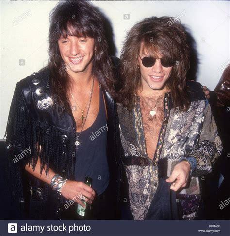 Jon Bon Jovi Richie Sambora Stock Photos