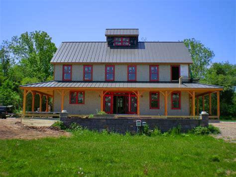 barn house kits prefab bungalows lowe s pole barn kits metal barn home