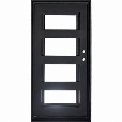 Door Single Double Iron Doors Flat Sweep