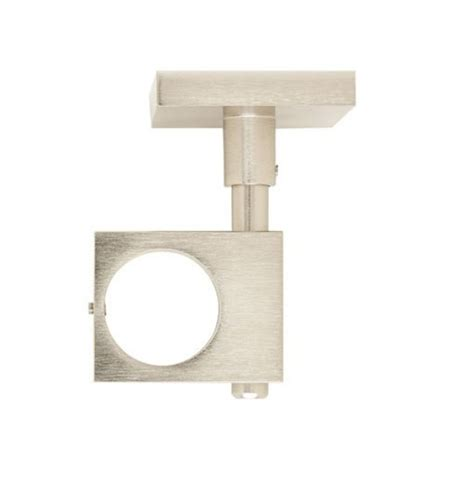 square ceiling bracket for 1 3 16 quot metal curtain rod each