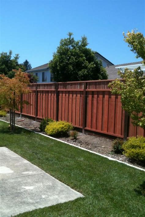 borg fence and decks pleasanton redwood fences borgfence