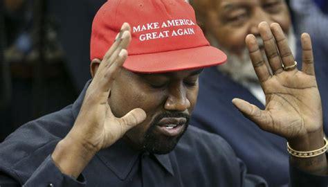 kanye west president maga hat run celebrities newshub react