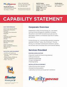 10 best images about capabilities statement on pinterest With capabilities statement template