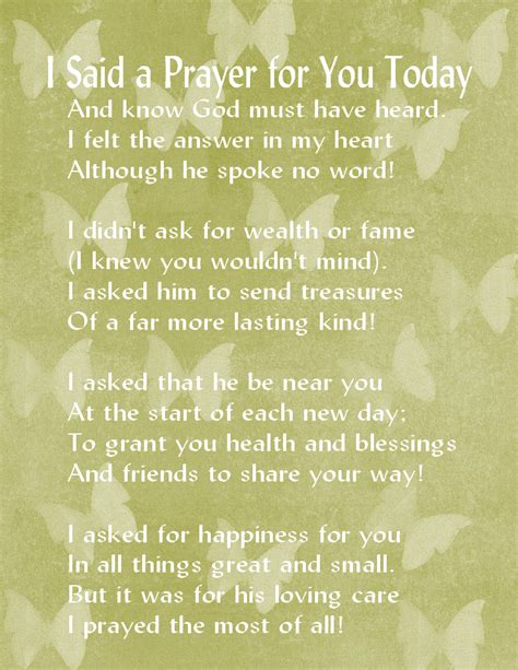 My Prayer For You Today Quotes