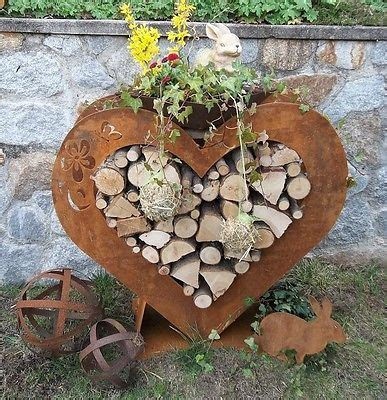 Gartendeko Blech by Herz In Edelrost Gartendeko Geschenkidee Terasse Rost