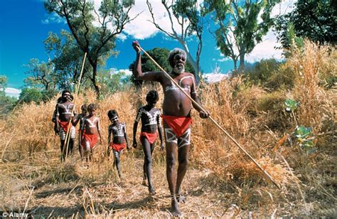 First Australians Were Aborigines And Arrived There 55,000 Years Ago  Daily Mail Online