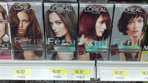 L'oreal Feria Hair Color Only .97 At Walmart After New