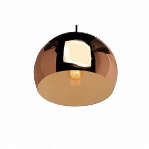 Suspension Boule Cuivre : suspension boule cuivre noxe ~ Teatrodelosmanantiales.com Idées de Décoration