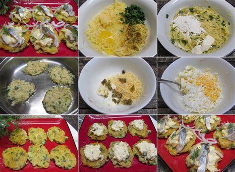 Kartupeļu pankūkas ar siera mērci un siļķi - Laiki mainās!