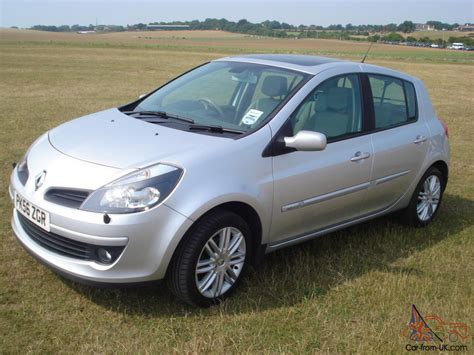 renault silver 2006 renault clio initiale silver