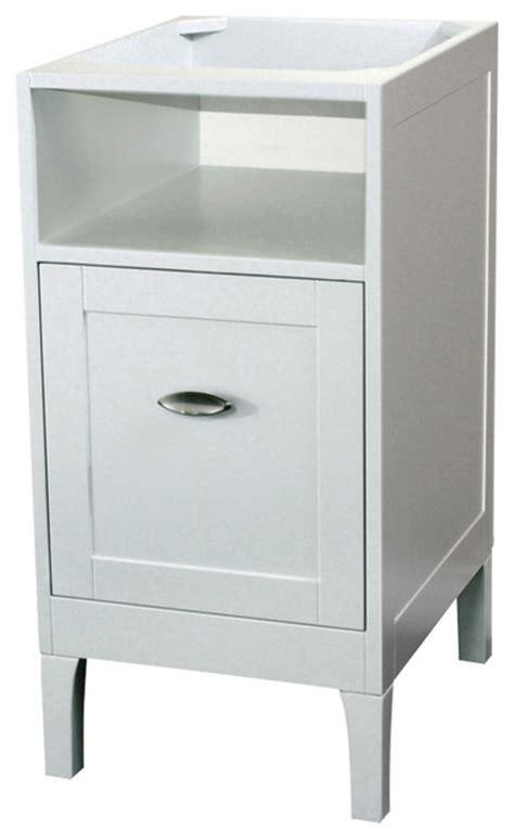 16 inch cabinet wood white modern bathroom vanities