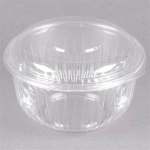 Dart Solo C48BCD PresentaBowls 48 oz. Clear Plastic Bowl ...  Plastic