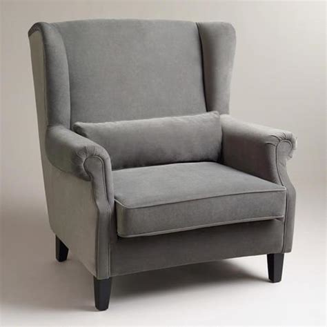 charcoal graham chair and a half world market